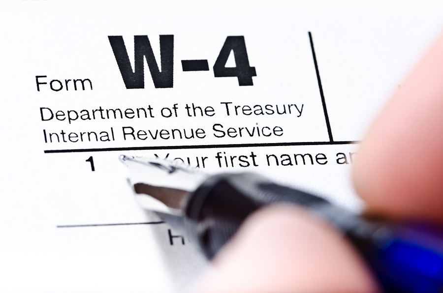 W-4 Withholding